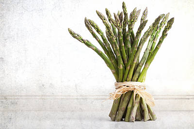 Asparagus Vintage Poster by Jane Rix