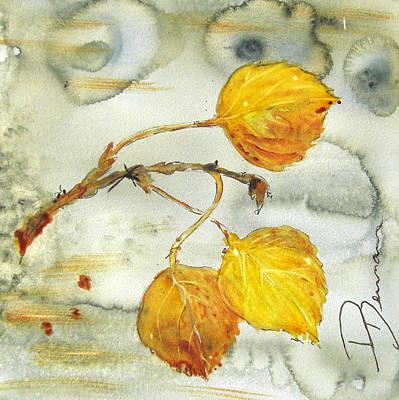 Aspen Leaves Poster