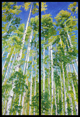 Aspen Twin Perspectives Poster