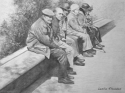 Aspettando Poster by Leslie Rhoades