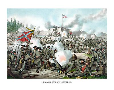 Assault On Fort Sanders Poster