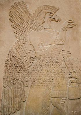 Assyrian Guardian Poster