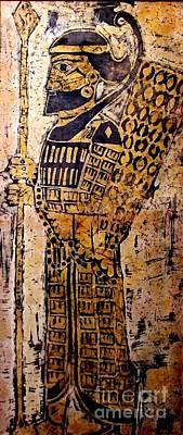 Assyrian Soldier Poster