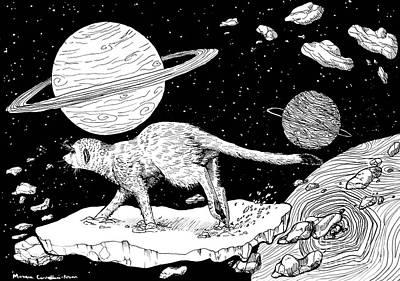 Asteroid Runner Poster
