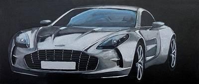 Aston Martin One-77 Poster
