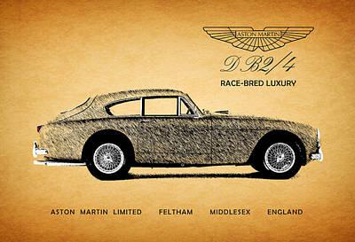 Aston Martin Race-bred Luxury Poster by Mark Rogan
