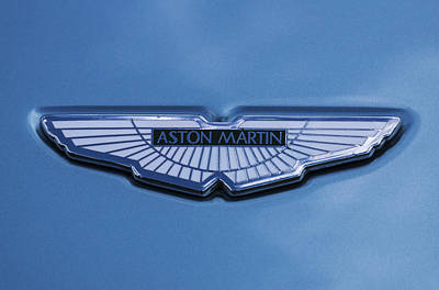 Aston Martin Poster by Scott Carruthers