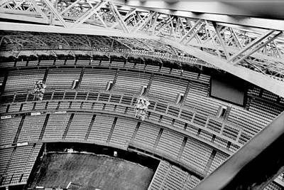 Poster featuring the photograph Astrodome 10 by Benjamin Yeager