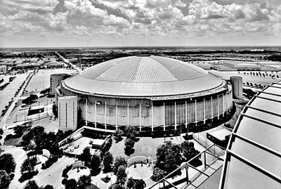 Poster featuring the photograph Astrodome 5 by Benjamin Yeager
