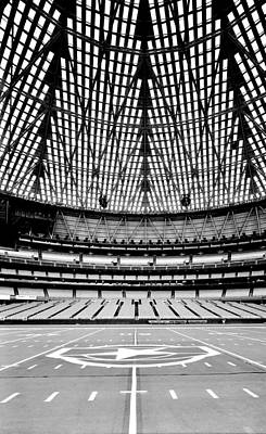 Poster featuring the photograph Astrodome 7 by Benjamin Yeager