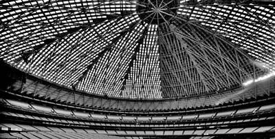 Poster featuring the photograph Astrodome 8 by Benjamin Yeager