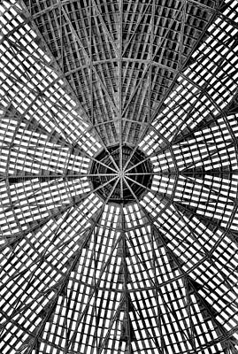 Poster featuring the photograph Astrodome 9 by Benjamin Yeager
