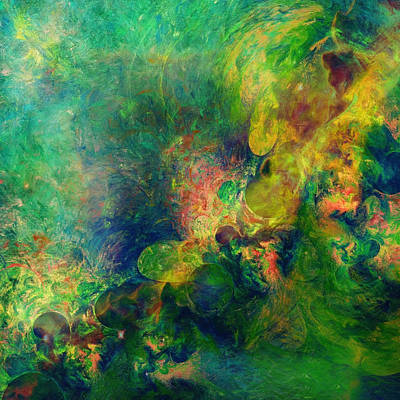 Astronomical Beauty Abstract Poster