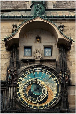 Astronomical Clock Poster