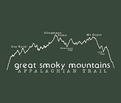 At Elevation Profile Gsm White Poster by Heather Applegate