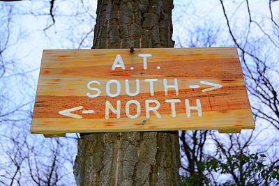 At North To South Poster by Raymond Salani III