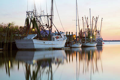 At Rest - Shem Creek Poster