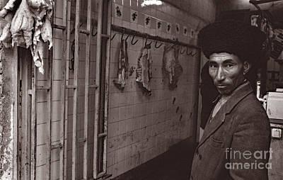 Butcher Shop, Iran 1977 Poster