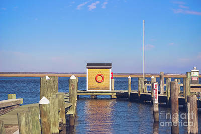 Poster featuring the photograph At The Dock by Colleen Kammerer