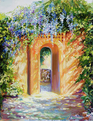 Atalaya With Wisteria Poster