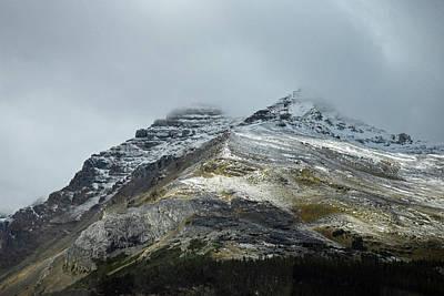 Athabasca Glacier No. 3-1 Poster