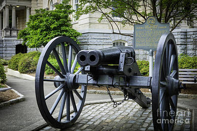 Athens Double-barreled Cannon Poster by Brian Jannsen