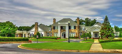 Atlanta Athletic Club Johns Creek Georgia Golf Art Poster