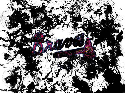 Atlanta Braves 1b Poster