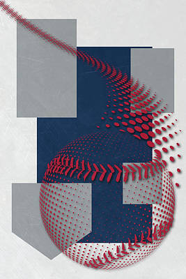 Atlanta Braves Art Poster by Joe Hamilton