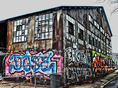 Atlanta Graffiti Poster by Corky Willis Atlanta Photography