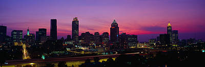 Atlanta Skyline, I-20, Georgia Poster by Panoramic Images