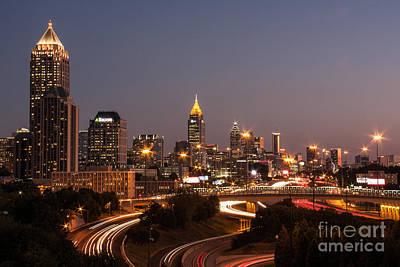 Atlanta Skyline - Scad Poster