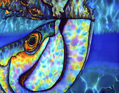 Atlantic Tarpon Fish Poster