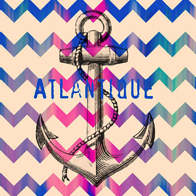 Atlantique Long Island Anchor Poster