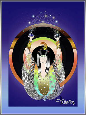 Atlantis - Copper Ring Energy Alchemy Poster
