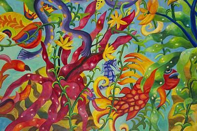 Atlantis Hotel Ceiling II Poster by Art Spectrum