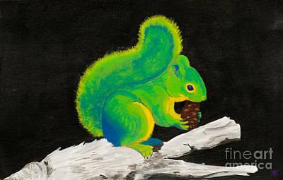 Atomic Squirrel Poster