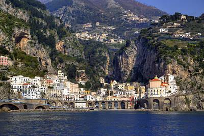 Atrani - Amalfi Coast Poster by Joana Kruse