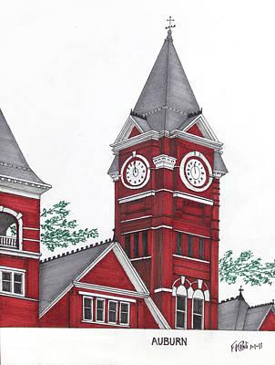 Auburn Poster by Frederic Kohli