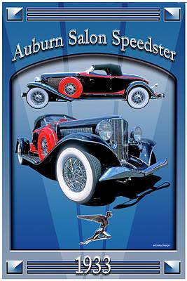 Auburn Salon Speedster V12 Poster