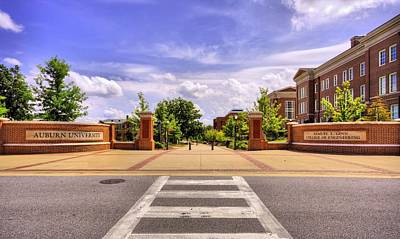 Auburn University Campus Life Poster by JC Findley