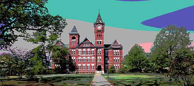 Auburn University Poster by Charles Shoup