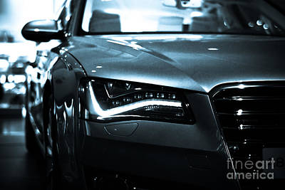 Audi A8 Poster by Syed Aqueel
