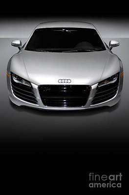 Audi R8 Sports Car Poster