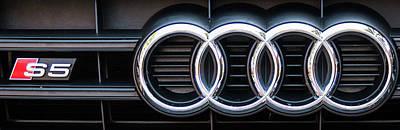 Audi S5 Emblem Poster