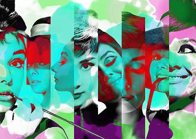Audrey Hepburn 1 Poster by Diana Van