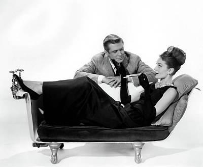 Audrey Hepburn Holly Golightly Breakfast At Tiffanys  Poster