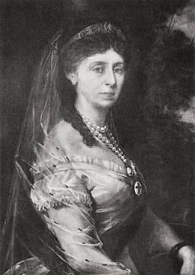 Augusta Of Saxe-weimar-eisenach, 1811 Poster by Vintage Design Pics