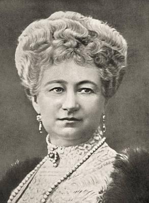 Augusta Victoria Of Schleswig-holstein Poster by Vintage Design Pics