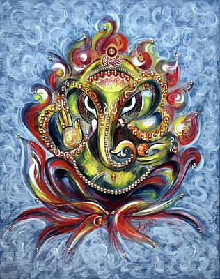 Aum Ganesha Poster